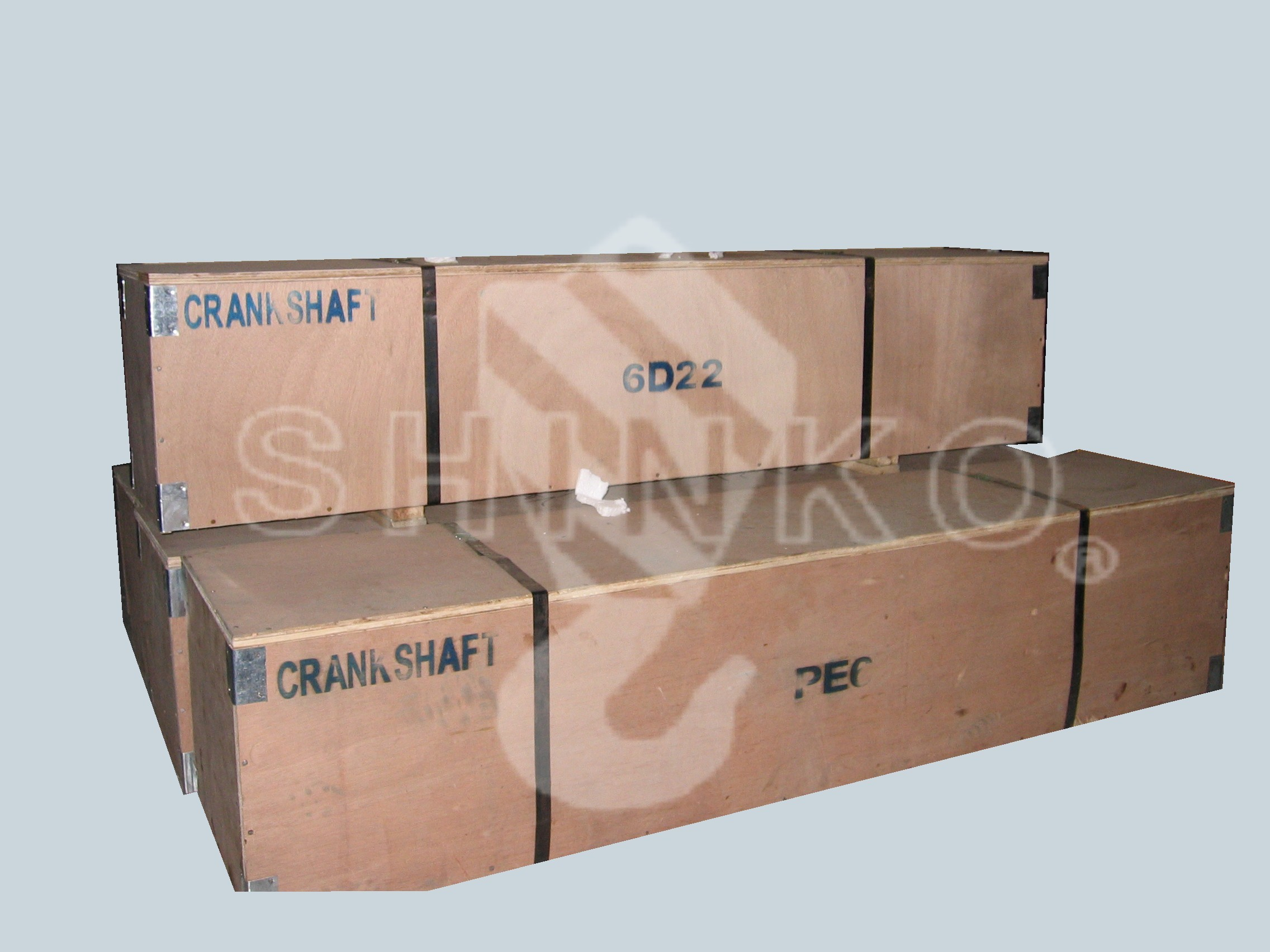 6D22 Crankshaft Assy